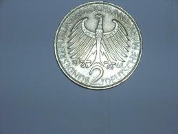 2 Mark (Max Plank) 1968 D (5499) - [ 7] 1949-… : RFA - Rep. Fed. Alemana
