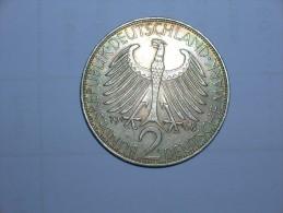 2 Mark (Max Plank) 1968 G (5501) - [ 7] 1949-… : RFA - Rep. Fed. Alemana