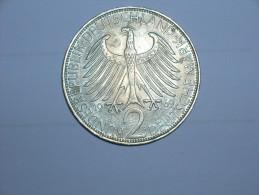 2 Mark (Max Plank) 1969 F (5504) - [ 7] 1949-… : RFA - Rep. Fed. Alemana