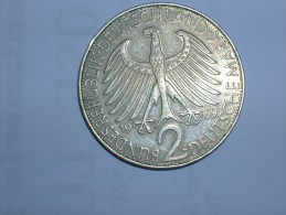 2 Mark (Max Plank) 1969 G (5505) - [ 7] 1949-… : RFA - Rep. Fed. Alemana