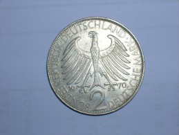 2 Mark (Max Plank) 1970 D (5507) - [ 7] 1949-… : RFA - Rep. Fed. Alemana
