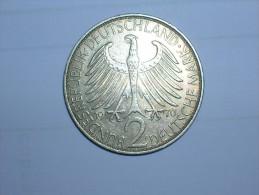2 Mark (Max Plank) 1970 F (5508) - [ 7] 1949-… : RFA - Rep. Fed. Alemana
