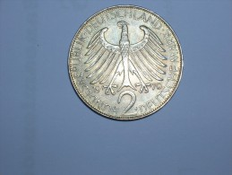 2 Mark (Max Plank) 1970 J (5510) - [ 7] 1949-… : RFA - Rep. Fed. Alemana
