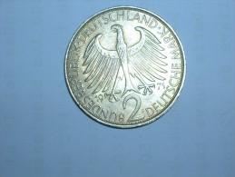 2 Mark (Max Plank) 1971 F (5512) - [ 7] 1949-… : RFA - Rep. Fed. Alemana