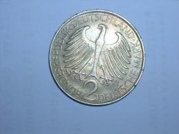 2 Mark (Max Plank) 1971 G (5513) - [ 7] 1949-… : RFA - Rep. Fed. Alemana