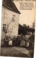 GUERRE EUROPEENNE ... HAUTE ALSACE 1914-15 ... PENDANT LA RECREATION D UNE ECOLE ALSACIENNE - France