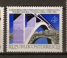 Austria ** &  XI Congresso Da Associação AI.P.C  1980 (1483) - Ponti