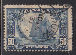 Canada Used Scott #158 50c Bluenose - Scroll Issue CDS: Truro, 1931 - Oblitérés