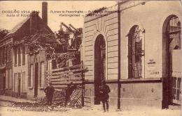 Ruinen te Poperinghe Vlamingstraat  circul�e en 1919