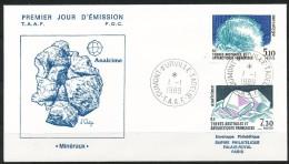 Franz.Gebiete I.d.Antarktis - Mi.Nr .     245 - 246-      Gestempelt -     FDC - FDC