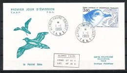 Franz.Gebiete I.d.Antarktis - Mi.Nr .     247 -  249  -       Gestempelt -     FDC - FDC