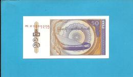MYANMAR ( Old BURMA )- 50 PYAS -  ND (1994 ) - P 68 - UNC. - Serie AE - 2 Scans - Myanmar