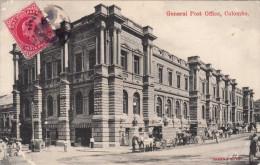 COLOMBO - General Post Office, Karte Um 1910, Orig.Frankierung, Altersbedingter Zustand - Sri Lanka (Ceylon)