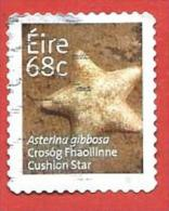 EIRE IRLANDA USATO - 2014 - Fauna - Cushion Star - 68 Cent. - Michel IE 2099 - Usati