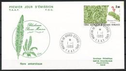 Franz.Gebiete I.d.Antarktis - Mi.Nr .     254      Gestempelt -     FDC - FDC