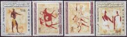 ALGER -   ROCK  PAINTING - TASSILI  - **MNH - 1966 - Astrology