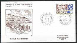 Franz.Gebiete I.d.Antarktis - Mi.Nr .     255      Gestempelt -     FDC - FDC