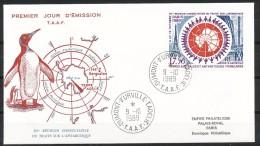 Franz.Gebiete I.d.Antarktis - Mi.Nr .     258-       Gestempelt -     FDC - FDC