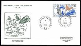 Franz.Gebiete I.d.Antarktis - Mi.Nr .     259       Gestempelt -     FDC - FDC