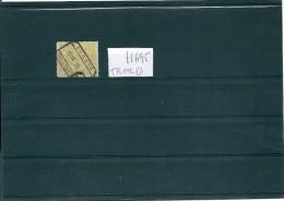 H695 BELGIUM 1920 SPOORWEGEN / CHEMINS DE FER / TRAIN # 112 USED COPY (CV €40,00) - Railway