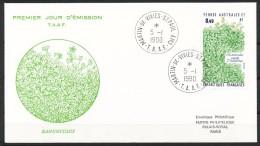 Franz.Gebiete I.d.Antarktis - Mi.Nr .     266       Gestempelt -     FDC - FDC