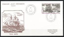 Franz.Gebiete I.d.Antarktis - Mi.Nr .     267       Gestempelt -     FDC - FDC
