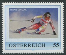 ÖSTERREICH / PM Renate Götschl / Postfrisch / MNH /  ** - Personalisierte Briefmarken