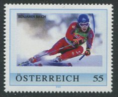 ÖSTERREICH / PM Benjamin Raich / Postfrisch / MNH /  ** - Personalisierte Briefmarken