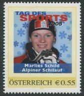 ÖSTERREICH / PM Tag Des Sports 2005 / Marlies Schild - Alpiner Schilauf / Postfrisch / MNH /  ** - Österreich