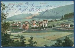 Ilmenau Thüringer Wald Villenviertel Gelaufen 1918 (AK23) - Ilmenau