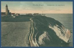 Arkona Insel Rügen Kreideküste Und Leuchtturm Ungebraucht (AK34) - Ruegen