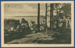 Kiel Düsterbrooker Gehölz Blick Auf Die Förde Gelaufen 1926 (AK58) - Kiel