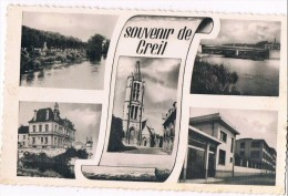 CREIL . 60 . Un Souvenir De Creil . 5 Photos . - Creil