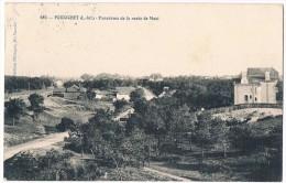 PORNICHET . 44 . Panorama De La Route De Mazi .1910. - Pornichet