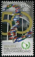 Mexico (2014) - Set -  /  Flags - Parlamento Latinoamericano - Mexico