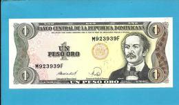 DOMINICAN REP. - 1 PESO ORO - 1988 - Pick 126 - UNC. - 2 Scans - República Dominicana