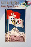 SA13   @  1928 St. Morits Winter Olympic Games  , Postal Stationery -Articles Postaux -- Postsache F - Winter 1928: St-Moritz