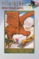 SA13   @  1924 Chamonix Winter Olympic Games  , Postal Stationery -Articles Postaux -- Postsache F - Winter 1924: Chamonix