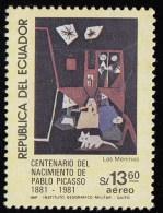 ECUADOR - Scott #C730 Las Meninas By Pablo Picasso / Mint H Stamp - Equateur