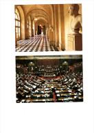 Congrés Du Parlement.2008 Et 2009 Cartes Postales Timbrées - 2000-09
