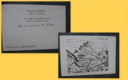Jacques BARROT, Yssingeaux (43) Carte Avec Texte Autographe, 1983, Jacquemin,  ; Ref 667 VP07 - Autographes