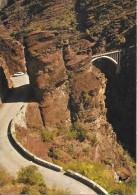 Les Gorges De DALUIS - La Route Près Du Pont Du Saut De La Mariée - Francia