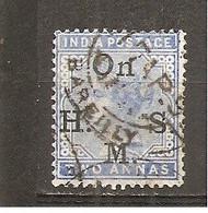 India Inglesa -  Nº Yvert Servicio 32 (usado) (o) - 1882-1901 Imperio
