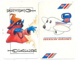 YOKER KARDS RARE YEAR 1990 TWO JOKERS - Barajas De Naipe