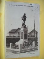 07 64 CPA - LE MONUMENT AUX 19 MORTS DE CHALLERANGE - 1934 - (VOIR SCANS) - Francia