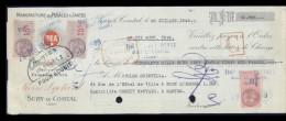 3211-LCD-20194  Pédales & Jantes Sury Le Comtal 1949 - Lettres De Change