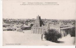 TOMBOUCTOU 297 AFRIQUE OCCIDENTALE LA MOQUEE DE SANKORE AU NORD DE LA VILLE CONSTRUITE VERS LE XI E SIECLE - Mali