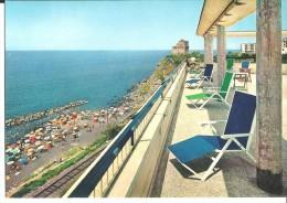 ! - Publicité Pour Hotel Scobel à Torre Del Greco (Italie - Campanie), Près De Pompéi - Carte Postale Vierge - Publicité