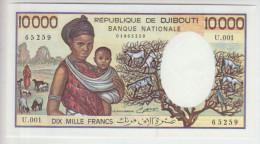 Djbouti 10000 Francs (1984) Pick 39b UNC - Djibouti