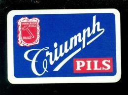 Speelkaart ( 914 ) Dos D´ Une Carte à Jouer - Bier Bière Bieren Bières Brasserie Brouwerij -   BAB - Barajas De Naipe